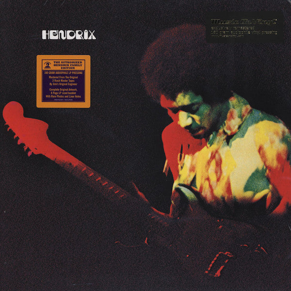 Jimi Hendrix - Band Of Gypsys (LP, 180gm)