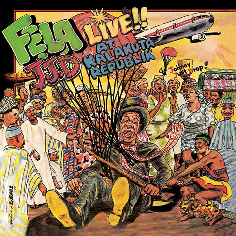 Fela & Afrika 70 - J.J.D (Johnny Just Drop!!) Live!! At Kalakuta Republik (LP)