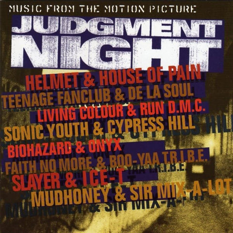 Various - Judgment Night OST (LP, flaming vinyl)