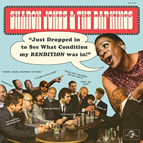 [RSDBF20] Sharon Jones & The Dap-Kings - Just Dropped In (To See What Condition My Rendition Was In) (LP blue/black splatter vinyl)