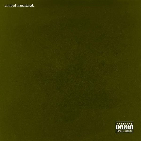 Kendrick Lamar - Untitled Unmastered. (LP)