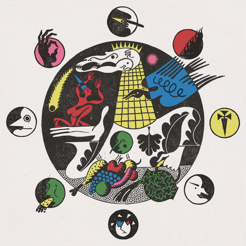 Pigs Pigs Pigs Pigs Pigs Pigs Pigs (Pigs x7) - King of Cowards (LP, Gold with Greed vinyl)