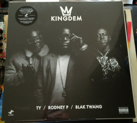 "Kingdem (Ty / Rodney P / Blak Twang) - The Kingdem EP (12"")"