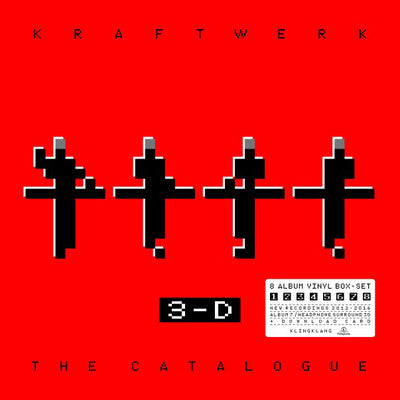 Kraftwerk - 3-D The Catalog (9xLP Boxset)