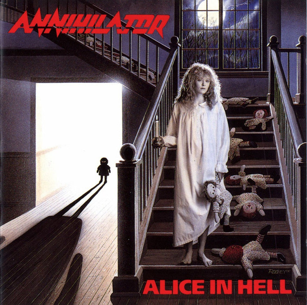 Annihilator - Alice In Hell (LP, Ltd. 180g Audiophile Blue vinyl)