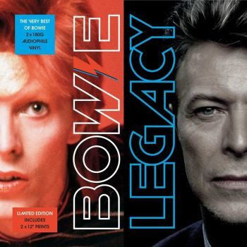 "David Bowie - Legacy 2xLP (180g vinyl inc 2x12"" prints)"