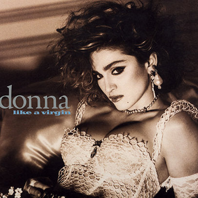 Madonna - Like A Virgin (LP, clear vinyl)