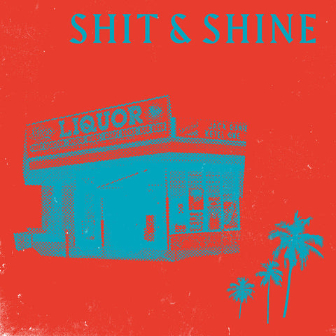 Shit & Shine - Malibu Liquor Store (LP, red/blue swirl vinyl)