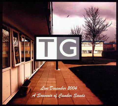 Throbbing Gristle - Live December 2004: A Souvenir Of Camber Sands (2xLP, white vinyl)