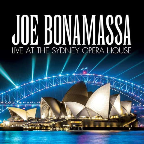 Joe Bonamassa - Live At The Sydney Opera House (2xLP, blue vinyl)