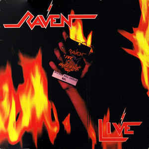 Raven - Live At The Inferno (2xLP, Megaforce reissue)