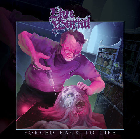 Live Burial - Forced Back To Life CD