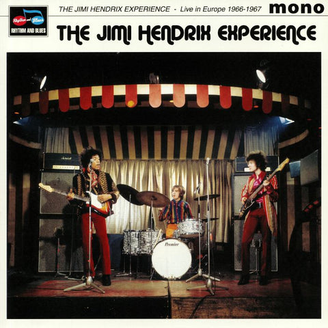 Jimi Hendrix Experience - Live in Europe 1966-1967 (LP)