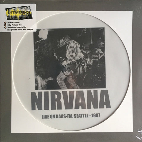 Nirvana - Live On Kaos-Fm, Seattle LP (picture disc)