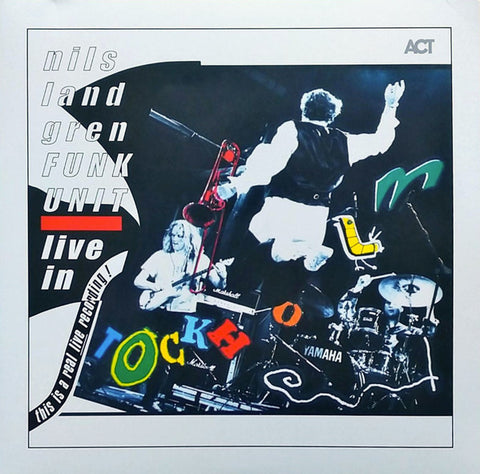 Nils Landgren Funk Unit - Live In Stockholm (2xLP, coloured vinyl)