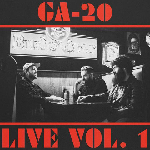 "GA-20 - Live Vol. 1 (7"", teal transparent vinyl)"