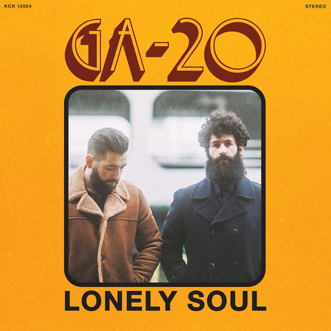 GA-20 - Lonely Soul (LP, red vinyl)