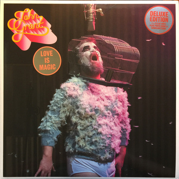 John Grant - Love Is Magic (2xLP, clear vinyl inc booklet)
