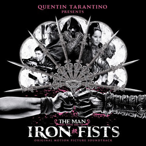 Various - The Man With The Iron Fists (Silver Vinyl 2xLP, 180gm)