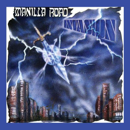 Manilla Road - Invasion LP BLUE