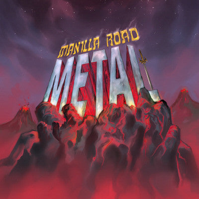 Manilla Road - Metal CD