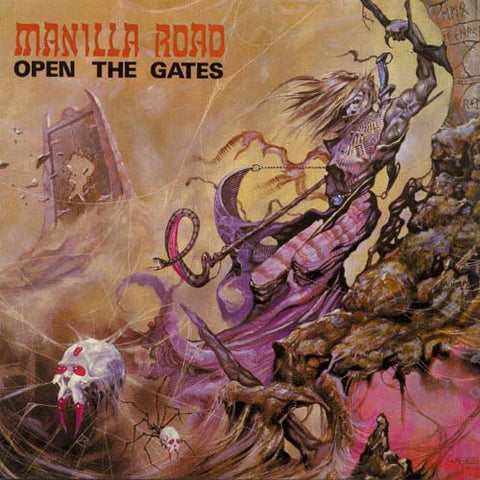 Manilla Road - Open The Gates (LP, clear vinyl)