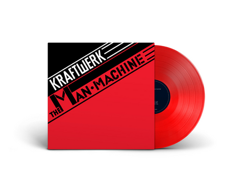 Kraftwerk - The Man-Machine (LP, translucent red vinyl)