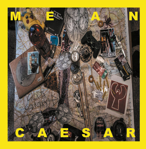 "Mean Caesar - s/t (12"", etched vinyl)"
