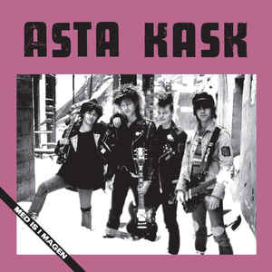 Asta Kask - Med Is I Magen (LP, red vinyl)