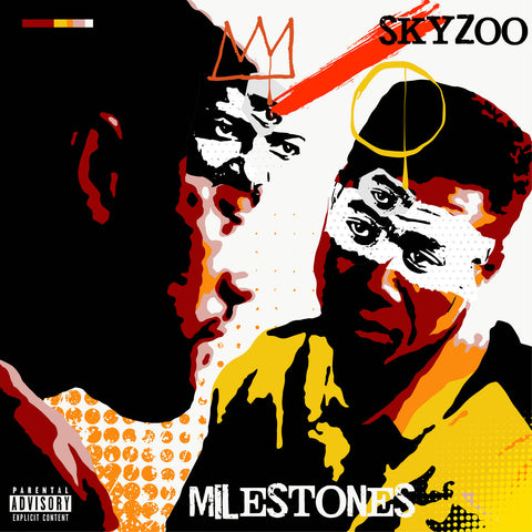 Skyzoo - Milestones (LP, yellow marbled vinyl)