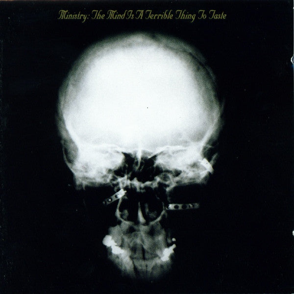 Ministry - The Mind Is A Terrible Thing To Taste (LP, 180gm, Clear/Black mixed vinyl)
