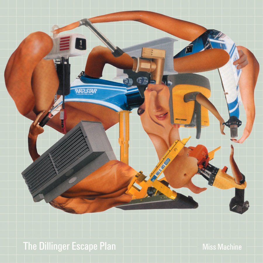 The Dillinger Escape Plan - Miss Machine (LP, coke bottle with white spinners vinyl)