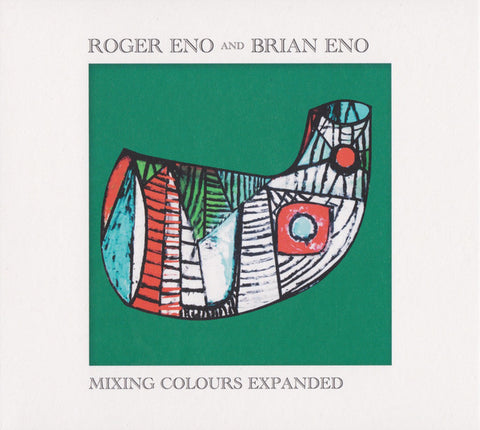 Roger Eno And Brian Eno - Mixing Colours Expanded (2xCD)