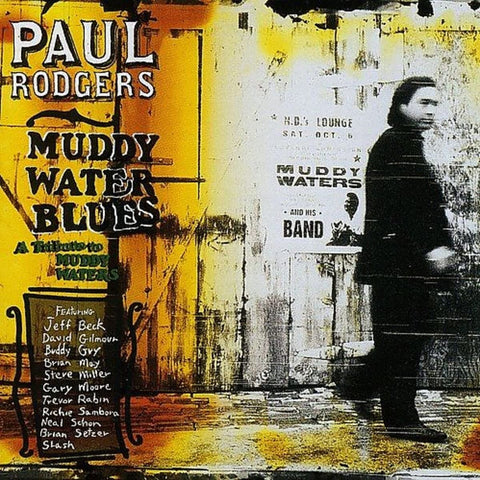 Paul Rodgers - Muddy Water Blues: A Tribute to Muddy Waters (2xLP, yellow vinyl)