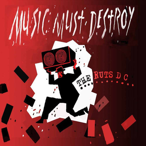 Ruts DC - Music Must Destroy 2xLP (red vinyl)