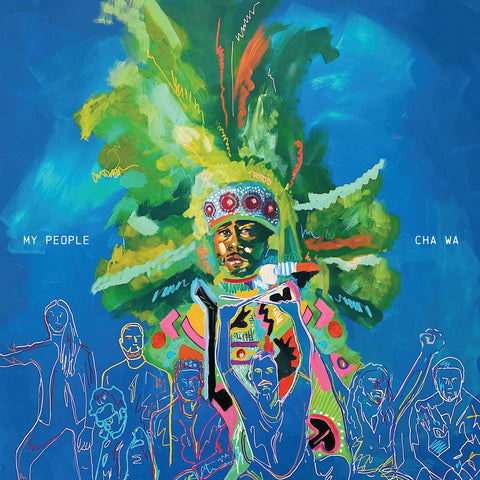 Cha Wa - My People (LP, mardis gras coloured vinyl)