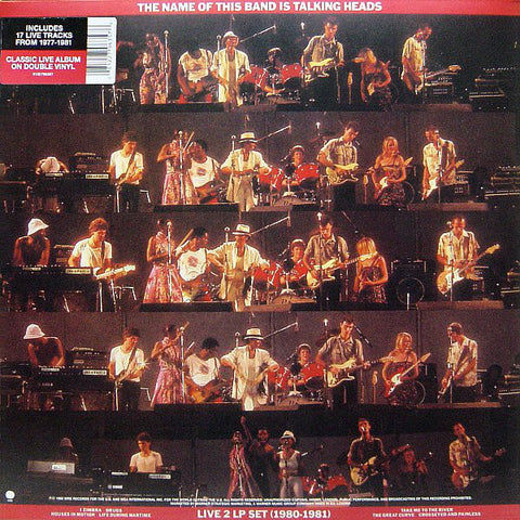 Talking Heads - The Name Of This Band Is Talking Heads (Live 1980-1981) (2xLP, red vinyl)