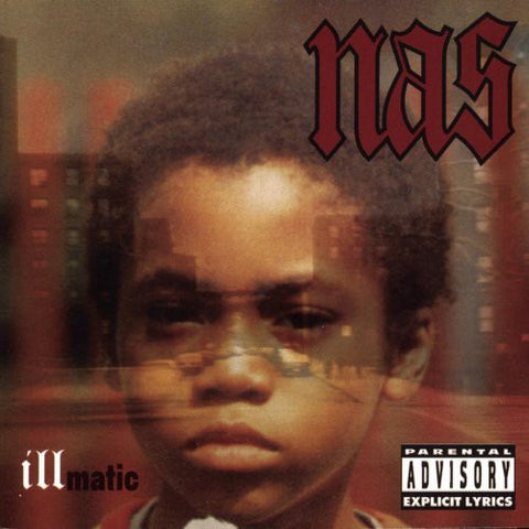 Nas - Illmatic (LP, clear vinyl)