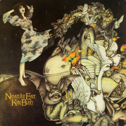 Kate Bush - Never For Ever (LP, 180g vinyl)