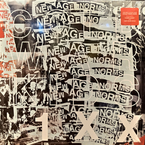 Cold War Kids - New Age Norms 1 (LP, white vinyl)