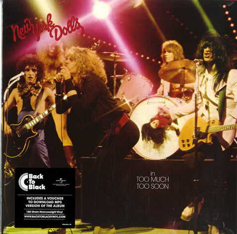 New York Dolls - Too Much Too Soon (180g LP)