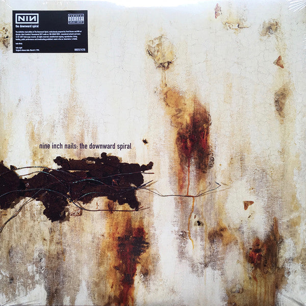 Nine Inch Nails - The Downward Spiral (2xLP)