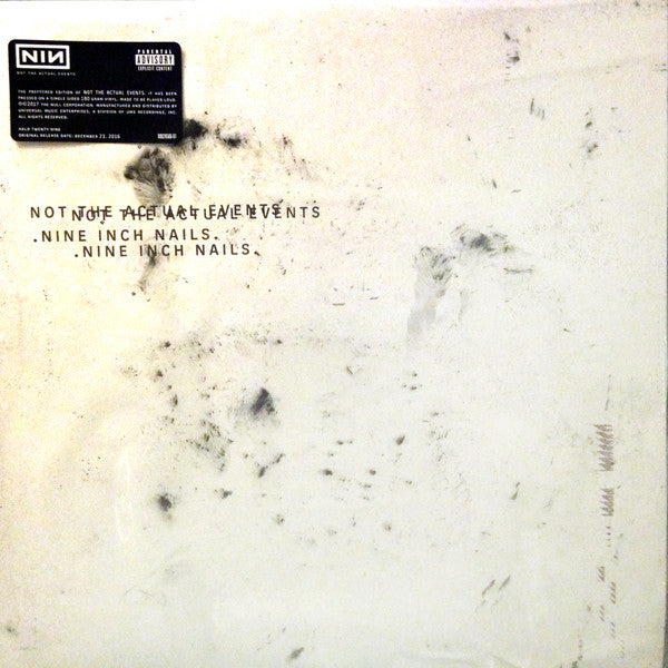 Nine Inch Nails - Not The Actual Events (LP)