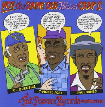 Various - Not The Same Old Blues Crap II LP