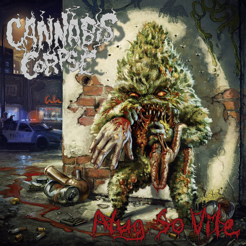 Cannabis Corpse - Nug So Vile (LP, red transparent vinyl)