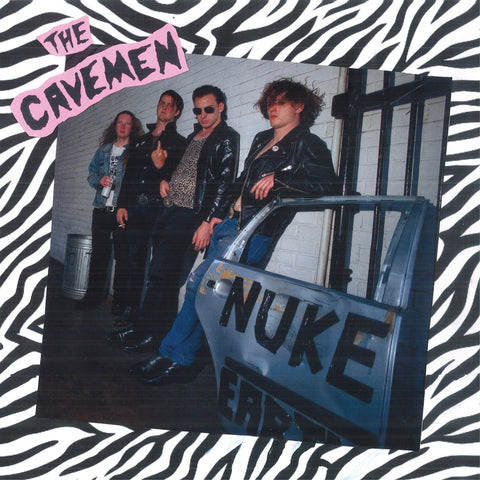 Cavemen - Nuke Earth (LP)