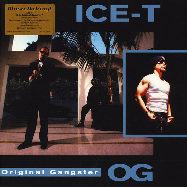 Ice-T - O.G. Original Gangster (LP, blue marble vinyl)