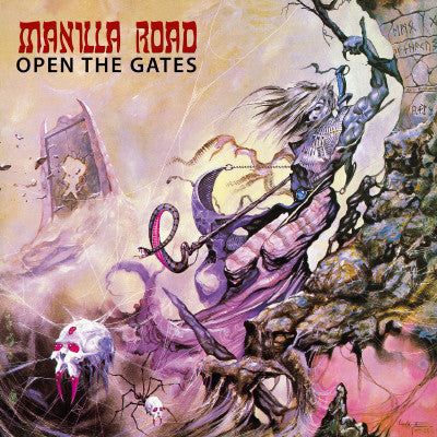 Manilla Road - Open The Gates CD