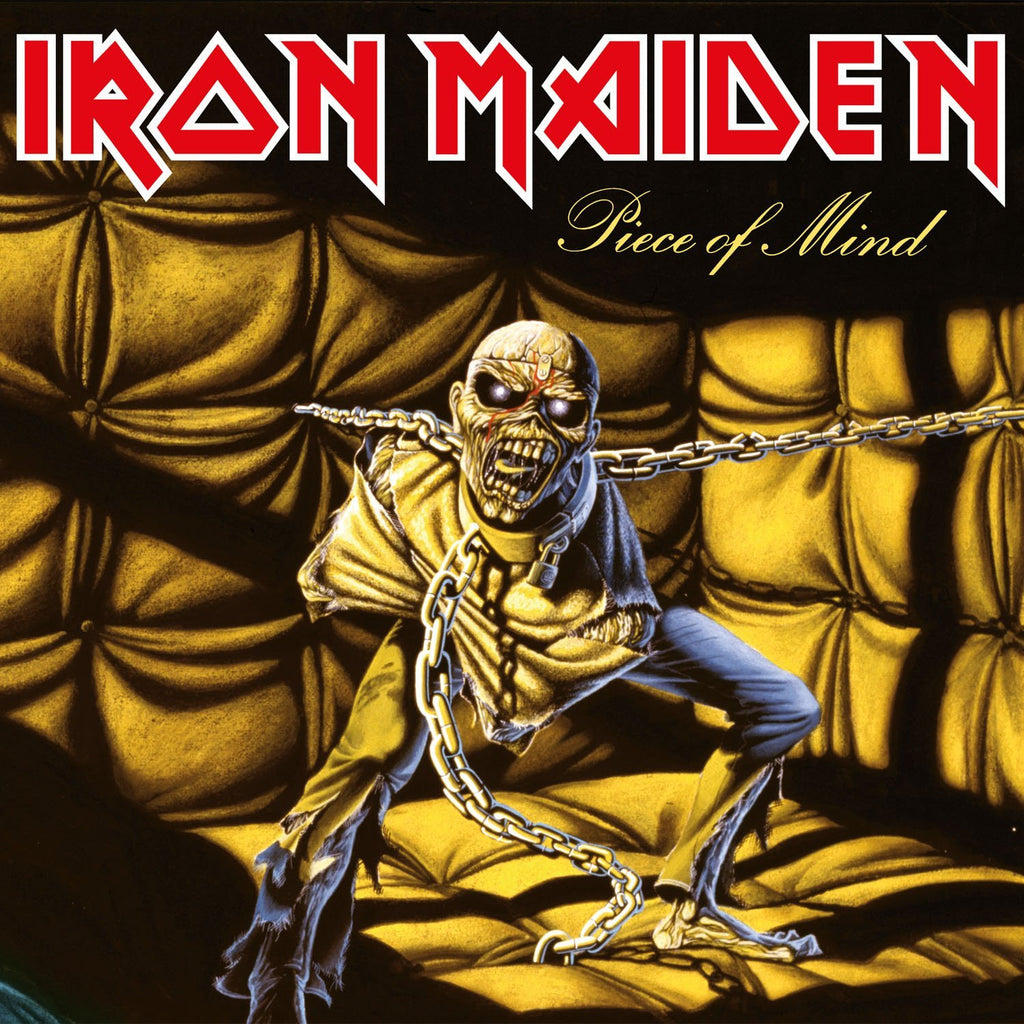 Iron Maiden - Piece Of Mind (LP) 2014 Reissue