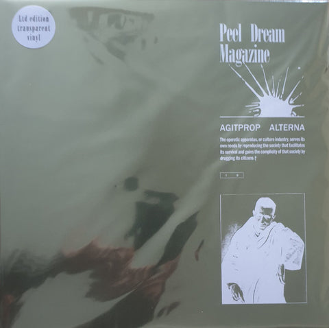 PREORDER - Peel Dream Magazine ‎– Agitprop Alterna (LP, Transparent vinyl)
